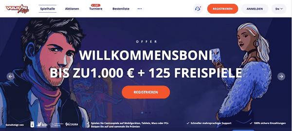 VulkanVegas Casino: Promo Codes 2021, um die besten Bonusangebote zu genießen